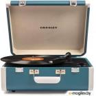 Проигрыватель виниловых пластинок Crosley Portfolio Portable CR6252A-TU (бирюзовый)