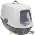 Туалет-домик Trixie Berto Top 40162 (серо-коричневый/серый)