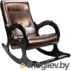 Кресло-качалка Calviano Бастион 2 с подножкой (dark brown)