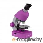 Микроскопы и аксессуары Детский микроскоп Bresser Junior 40x-640x Violet