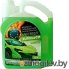 Антифриз EUROcar Готовый зеленый G11 / EC-11-5G (5кг)