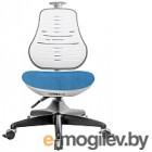 Чехол для стула Comf-Pro Conan (голубой велюр)