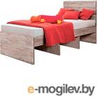 Односпальная кровать Мебель-КМК 900 Лондон 2 0478.11 (дуб юккон)