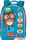 Школьный рюкзак Grizzly RS-896-4 (бирюзовый)