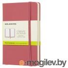Блокнот Moleskine CLASSIC QP012D11 Pocket 90x140мм 192стр. нелинованный твердая обложка розовый