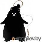 Меловая доска Grifeldecor Пингвин (300x390)