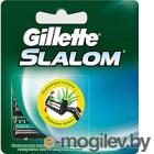 Сменные кассеты Gillette Slalom со смазывающей полоской (5шт)