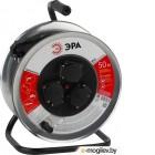Удлинитель силовой ЭРА Б0035325  RM-3-3x1-50m-IP44 c заземлением 3 гн ПВС 3х1,0 металлическая катушка