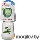 Бутылочка для кормления Sun Delight Выпуклая / 31157 (130мл, зеленый)