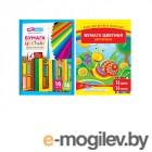Цветная бумага и картон Цветная бумага ArtSpace A4 16 цветов Немелованная Нб16-16дв4291