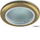 Светильник влагозащищенный Эра C0043846 WR1 GD   MR16,12V220V, 50W золото