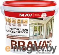 Грунтовка MAV Brava ВД-АК-04 (1л, белый)