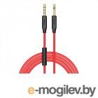 амбушюры, вставки и кабели HOCO UPA12 3.5 Jack/M - 3.5 Jack/M с микрофоном Black