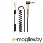 амбушюры, вставки и кабели HOCO Spring UPA02 3.5 Jack/M - 3.5 Jack/M Black
