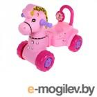 Каталки Альтернатива Лошадка Pink М3896 / 1376188