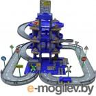 Wader Паркинг 4-уровневый с дорогой и автомобилями, синий