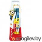 Зубная щетка детская Colgate Миньоны для детей 2+