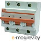 Выключатель автоматический TDM ВА 47-100 3Р 100А (C) 10кА / SQ0207-0077