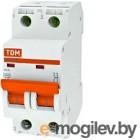 Выключатель автоматический TDM ВА 47-29 2Р 63А (C) 4.5кА / SQ0206-0099