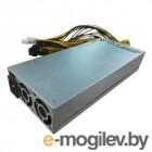 Блок питания R-Senda SD-2400W-BTC-1 16AWG for ASIC overclock mode S9 18TH, 2400W Mining PSU all cabels 16AWG, высота 8 см, Connector:,6pin *12pcs +15 cm, Inputefficiency: 92% OEM {10}