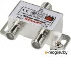 Аксессуары для антенн Делитель антенный Rexant F-типа на 2 TV  F-разъемы 06-0045-B