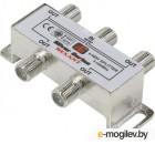 Аксессуары для антенн Делитель антенный Rexant F-типа на 4 TV  F-разъемы 06-0047-C