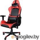Кресло офисное Mio Tesoro Альберто X-2546 (черный/красный)