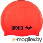 ARENA Classic Silicone Cap 91662 40 (Fluo red/Black)
