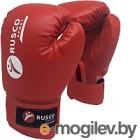 Боксерские перчатки RuscoSport 6oz (красный)