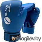 Боксерские перчатки RuscoSport 6oz (синий)