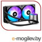 Комплект водяного охлаждения DEEPCOOL CASTLE 280 RGB LGA20XX/LGA1366/LGA115X/TR4/AM4/AM3/+/AM2/+/FM2/+/FM1 (8шт/кор,TDP Intel 150W, RGB Lighting, PWM, DUAL FAN) RET