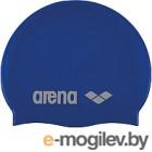 Шапочка для плавания ARENA Classic Silicone Cap 91662 77 (Sky blue/White)