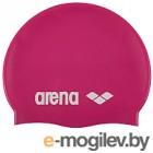 Шапочка для плавания ARENA Classic Silicone Cap 91662 91 (Fuchsia/White)