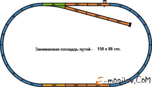 Piko 57151 Стартовый набор Грузовой дизельный поезд
