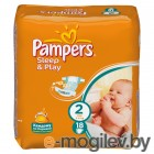 PAMPERS Sleep & Play Mini 2 3-6 кг 18шт