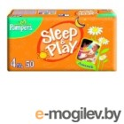 PAMPERS  Sleep & Play Maxi 4 7-18 кг 14 шт