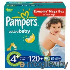 PAMPERS Active Baby Maxi Plus 4+ 9-16 �� 120��