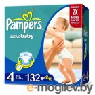 PAMPERS Active Baby Maxi 4 7-14 �� 132��