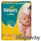 PAMPERS New Baby Mini 2 3-6 �� 72��
