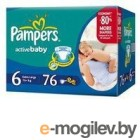 PAMPERS Active Baby Extra Large 6 15+ �� 76��