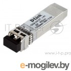 Трансивер  D-Link 431XT/A1A, SFP+ Transceiver with 1 10GBase-SR port.Up to 300m, multi-mode Fiber, Duplex LC connector, Transmitting and Receiving wavelength: 850nm, 3.3V power.