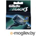 Gillette MACH3  4шт