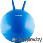 TORRES Фитбол с рожками 55см  AL100455 ПВХ синий