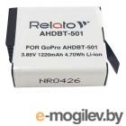 аккумуляторы и зарядки Аккумулятор Relato AHDBT-501 для GoPro