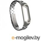 Аксессуары для умных браслетов Ремешок Apres для Xiaomi Mi Band 3 Metal Strap Silver