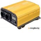 RITMIX RPI-6102 Pure sine  Максимально надёжный выходной сигнал – чистая синусоидаnЖК-дисплейnДве евророзетки и USB-портnПодключение напрямую к аккумулятору автомобиляnЗащита от короткого замыкания нагрузки, перегрева, перегрузки, превышения питающег