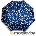 Зонт складной Cruise 630 (цветы/синий/серый)