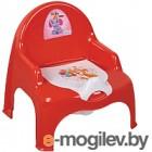 Детский горшок Dunya 11102 (красный)