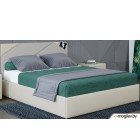 Двуспальная кровать Moon Trade Альба 1206 / К001167