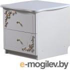 Мебель-КМК Розалия 0456.3-02 (белый/белый жемчуг/патина золото)